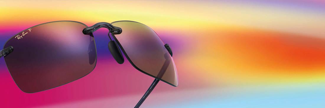 ae18c4251598b5 Ray-Ban Chromance brillenglazen geven meer kleur in het leven ...